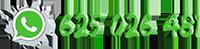 Logo Whatsapp con el teléfono 625 026 481