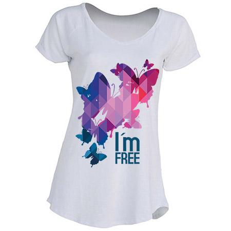 Curiosidades: Casquillo de bala caliente en camiseta de chica